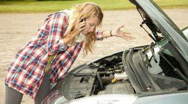 bateria do carro descarregada